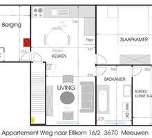 LEMAN NV - Meeuwen-Gruitrode - Weg naar Ellikom 16 bus 1 Eerste verdieping