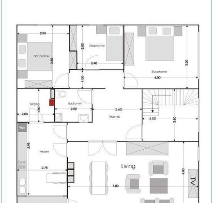 Leman NV - Nieuwstraat 149 tweede verdieping